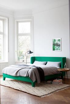 groen bed