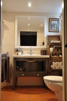Kleine badkamer, groot genot