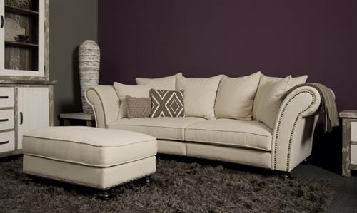 UrbanSofa Arvin 3 zits XLR sofa met hocker