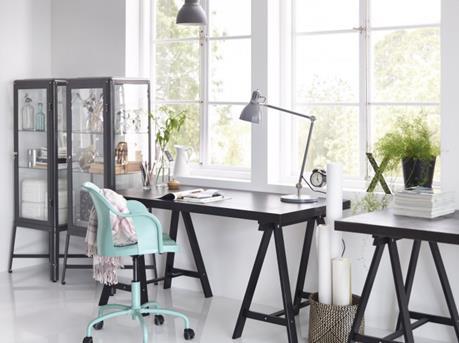 Interieur inspiratie ikea maakt van thuiswerken een feest for Ikea echelle