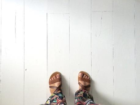 witte vloer