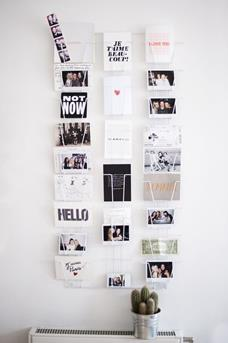 kaarten aan de muur