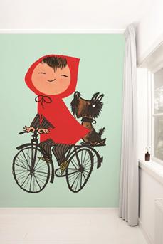 fotobehang-uit-de-serie-wallpaper-stories-riding-my-bike-van-fiep-westendorp