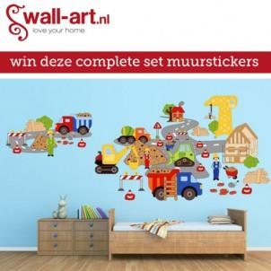 Win een complete muursticker set
