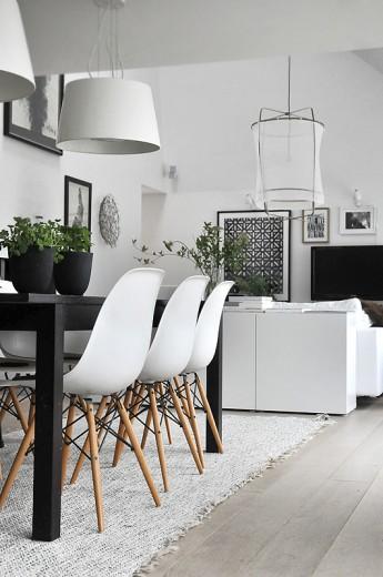 Interieur Inspiratie Eames stoel woonkamer - Interieur Inspiratie