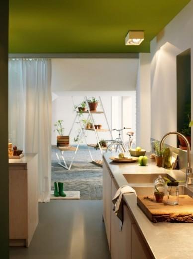 groen plafond