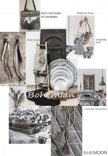 Bohemian style met hippie en Mediterrane en etnische invloeden