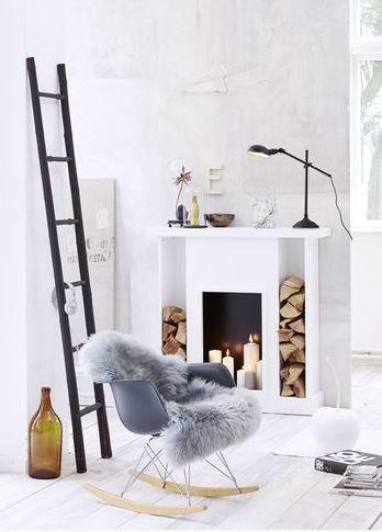 Eames stoel woonkamer interieur inspiratie for Design decoratie woonkamer