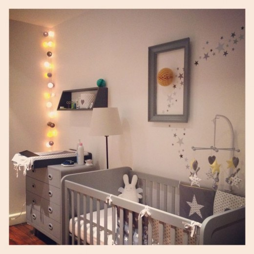 babykamer sterren