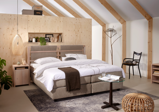 Slaapkamer Set Met Boxspring : Interieur inspiratie maak kennis met zeker slapen: altijd de