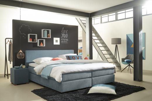slaapkamer bruin grijs