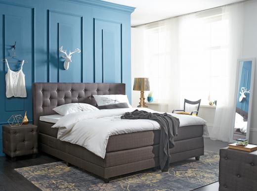 slaapkamer ideeen bruin bed artsmediafo