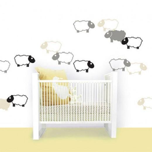schaapjes babykamer