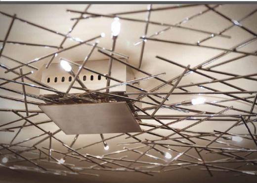 sierlijke plafondlamp