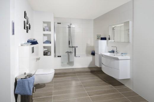 badkamer ideen populaire langwerpige tegels badkamer
