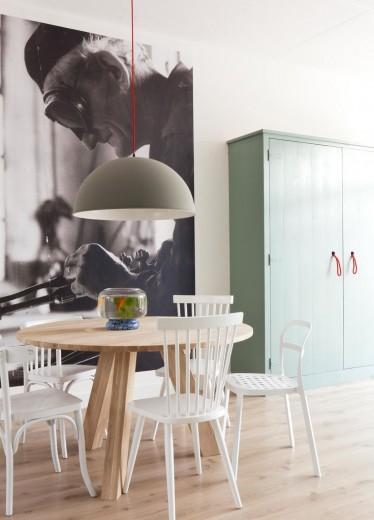 Interieur Inspiratie De eetkamerstoel mix - Interieur Inspiratie