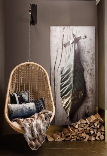 Interieur Inspiratie Knus het najaar in met een hangstoel ...