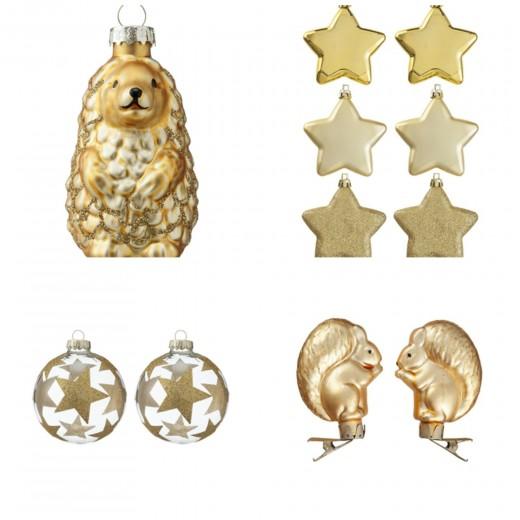 interieur inspiratie gouden kerst - interieur inspiratie, Deco ideeën