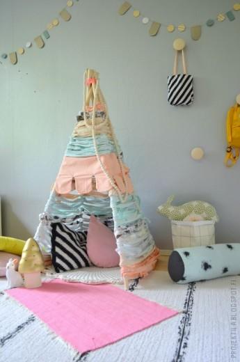 pastel tent