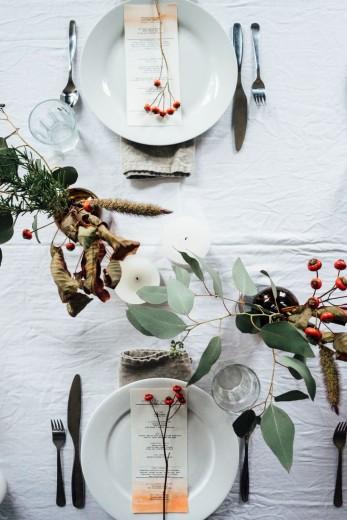 kerst tafel