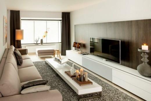 Interieur inspiratie tv kijken of tv wegkijken - Interieur meubels ...