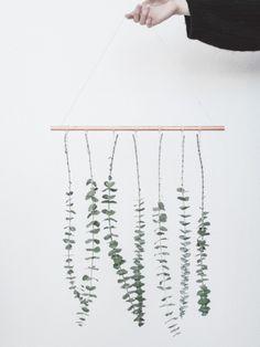 DIY: hangende Eucalyptus