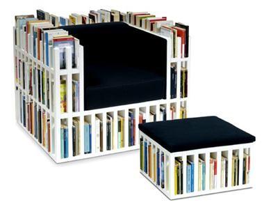 Wegdromen En Wegwerken : De boekenkast maar dan anders!