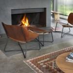 Functionals introduceert leren lounge chair en voetenbank