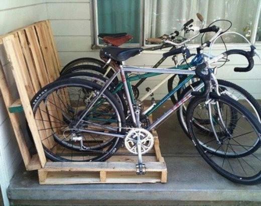 fiets pallets
