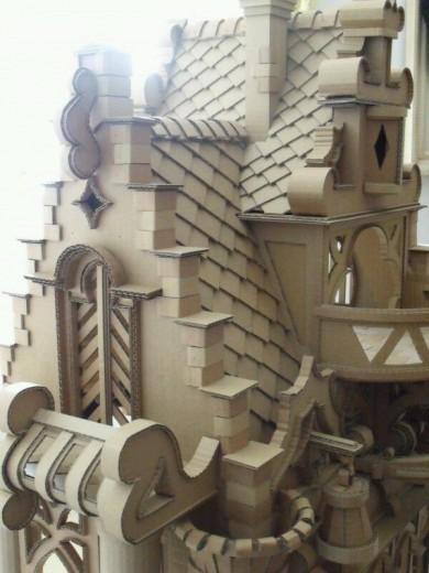 kartonnen kasteel
