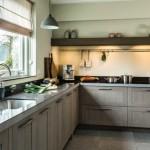 Keuken van hout