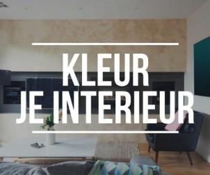Ben je klaar met je witte interieur? Ga in 2016 voor kleur!!!