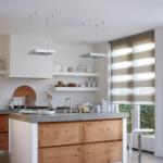 Bijzonder stucwerk in de keuken