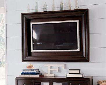 tv kunstwerk zwart