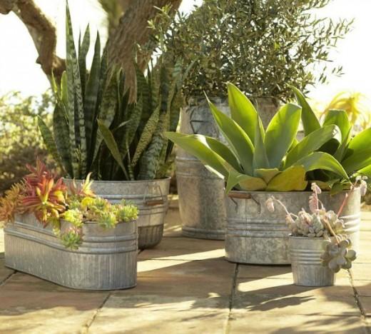 verzinken plantenbakken