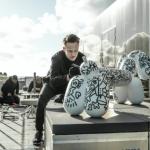 Kunstenaar Pablo Lücker voorziet Fatboy producten van zijn unieke ontwerpen