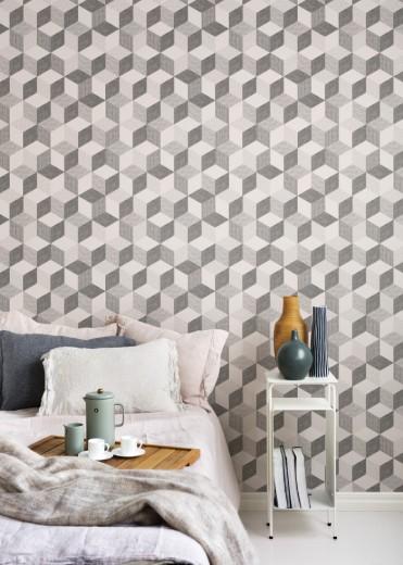 behang geometrisch