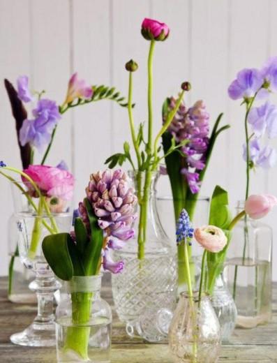 bloemen vazen
