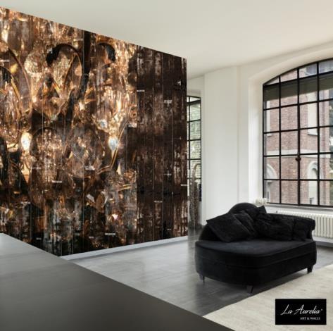 brons behang