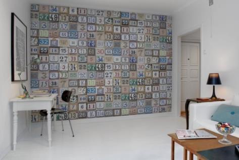 Interieur inspiratie over behang prachtig trendy interieur inspiratie - Wallpaper volwassen kamer trendy ...