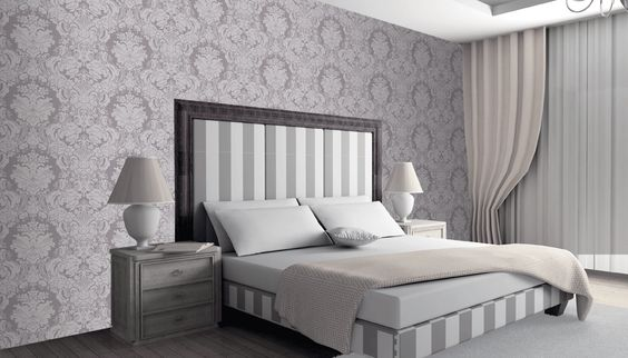 Interieur Inspiratie barok behang in de slaapkamer