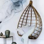 Rotan hangstoel van Broste Copenhagen