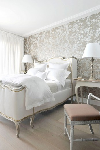 klassieke barok slaapkamer