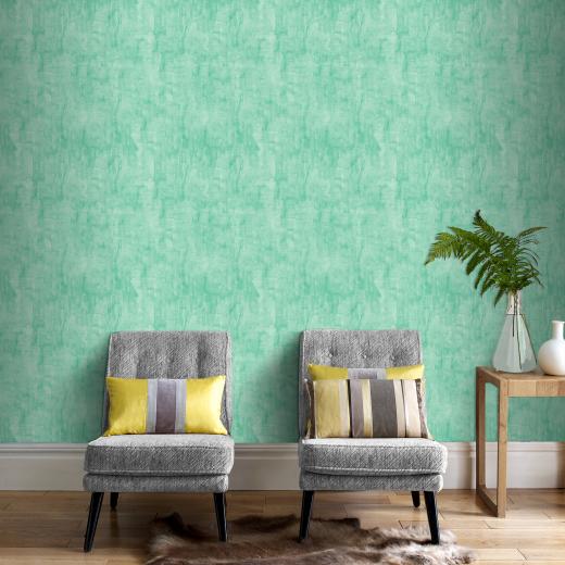 groen behang graham