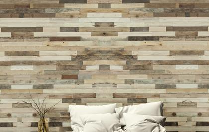 Houten Wandpanelen Slaapkamer : Interieur inspiratie wowood: hout aan de wand met een wow factor