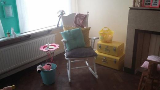 schommelstoel kamer