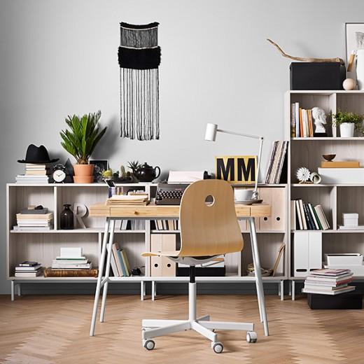06_IKEA_LILLASEN_bureau_VAGSBERG-SPORREN_bureaustoel_VALJE_open_kasten_a