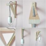 Hanglampen van hout