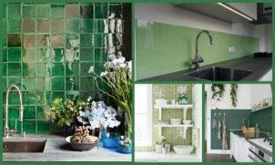 5 x groen in de keuken