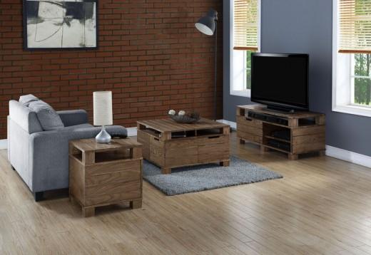 Interieur inspiratie meubels van pallets in een moderne vorm